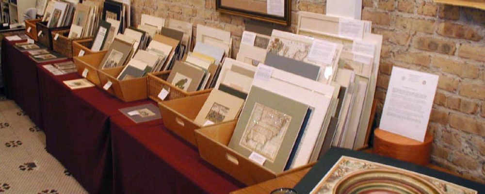 Shop Visit: George Ritzlin Antique Maps & Prints