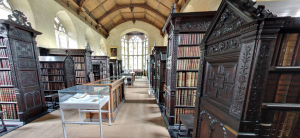 cambridge - st. john's old library